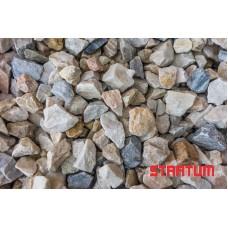 Rausva granito skalda 8-16 mm