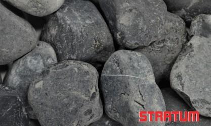 """Akmenys """"Nero Ebano"""" 40-60 mm (20 kg)"""