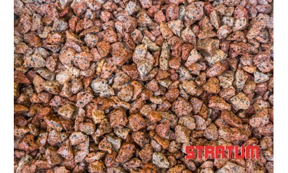 Raudona granito skalda 11-16 mm