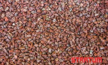 Raudona granito skalda 5-8 mm (30 kg)