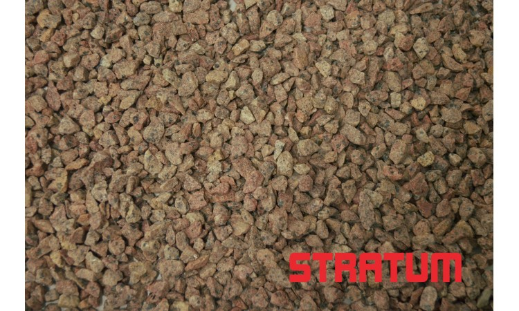 Raudona granito skalda 8-11 mm (30 kg)