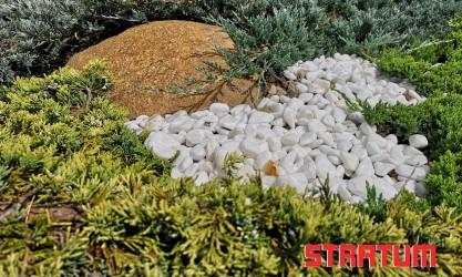 Balti dekoratyviniai akmenukai 10-20 mm (20 kg)