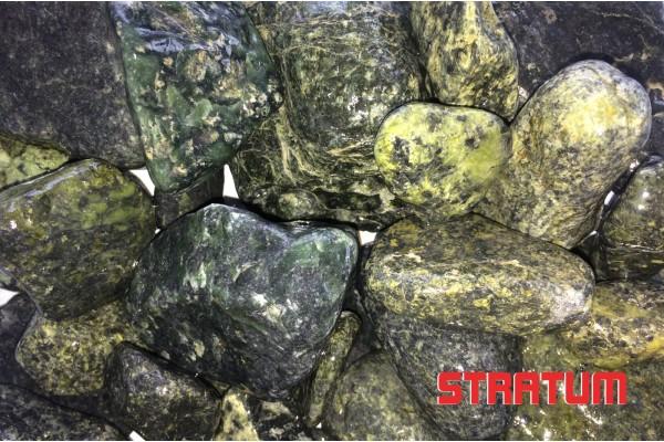 Žalsvi dekoratyviniai akmenukai